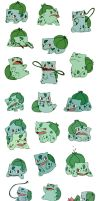 Bulbasaur commission by bluekomadori