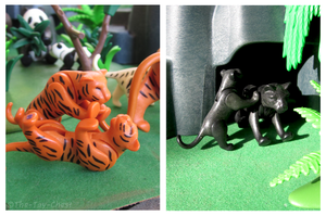 Playmobil Jungle - Playful Cubs by The-Toy-Chest