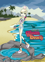 Monster High OC: Gloom Beach Willow Wisp by ChamomileCatastrophe