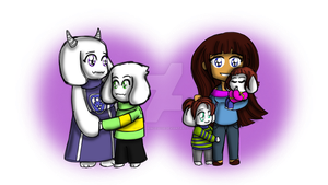 UNDERTALE: Two Generations by DarkPrincess116