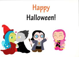 Happy Halloween 2012! by Draccyvangirl7