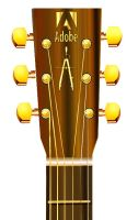 Acoustic guitar Headstock WIP by zorchmedia