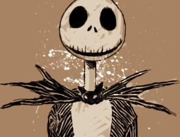 Jack Skellington by IzzyMaelstrom