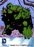 Swamp Thing by soliton