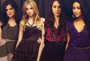 Pretty Little Liars 2 by DivAGFX