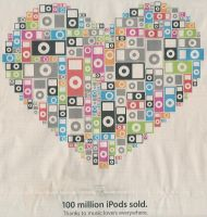 100 Million ipods by Halloween-Magic