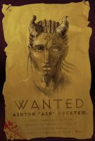 Ash's wanted poster by Ronamis