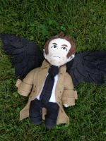 Supernatural - Castiel Plush by daggerhime