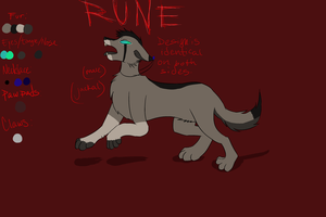 Rune's Reference by SombreDemeanor