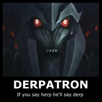 DERPATRON motivational poster by The9Tard