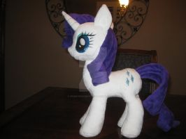 My Little Pony Friendship is Magic - Rarity Plush by GreenTeaCreations