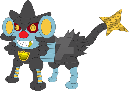 Lysander The Luxbot by ElectronTheShinx82