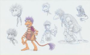 Fraggle Rock - Gobo by eoghankerrigan