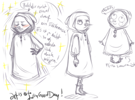 TIW : laura sketches by JollyGoodDay