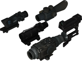 Scope and Aimpoint Pack #2 by ProgammerNetwork