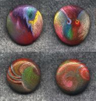 Two Painted Rocks by DonSimpson