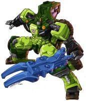 TF Energon Sledge by 1DB