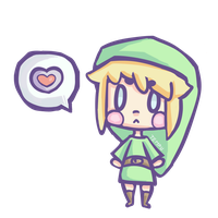 Link loves you ! by TempuraSeal