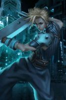 Cloud Strife by themimig