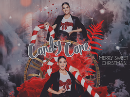 Katy and The Candy Cane by RavenLSD