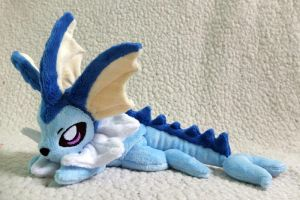 Vaporeon Pokemon Beanie. by tiny-tea-party