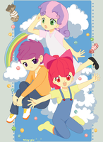 The Cutie Mark Crusaders Human by AerisHikari