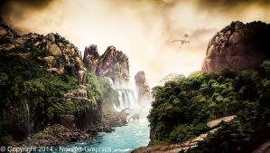 La riviere sauvage by Noxart-graphics