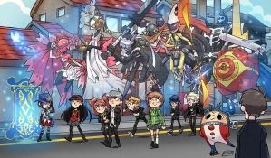 Persona 4 tribute. by donsimoni