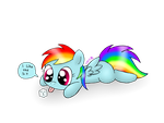 Dashie wants a sugercube by Spice5400