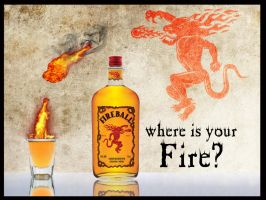 fireball whiskey ad by Synergy14