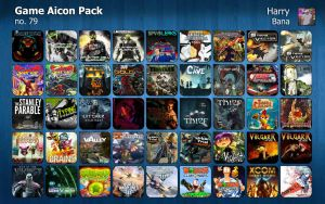 Game Aicon Pack 79 by HarryBana