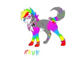 Rave (new/old character) by GhostKoMochi