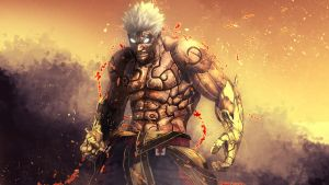 Asura's Wrath HD Wallpaper by TheSyanArt