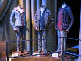 costumes.hermione ron harry filmset props.WB tour by Sceptre63