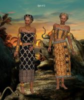 Song of Africa by oldhippieart