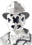 DND Paris : Watchmen (Rorschach) by emalterre