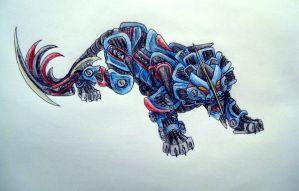 Freeflyer wing liger Zoid by ThoronWild
