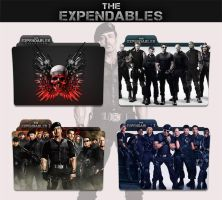 The Expendables Collection 2010 - 2014 Folder Icon by sonerbyzt