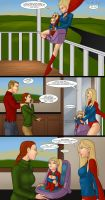 Supergirls and Mr Ninja pg 35 by LexiKimble