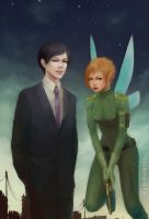Artemis Fowl and Holly Short by KarlaFrazetty