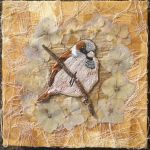 Sparrow Embroidery By Ruth Norbury by RuthNorbury