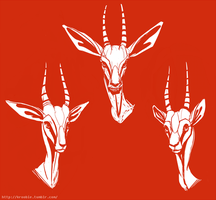 Gazelles by VinceAlvarino