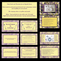 Trivia Cards and Place Mats by PixlPhantasy