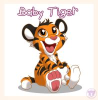 Baby Tiger! by nanook123