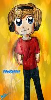 PewDiePie by shadow54379