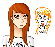 Kari is Beauteous by katidoodlesmuch