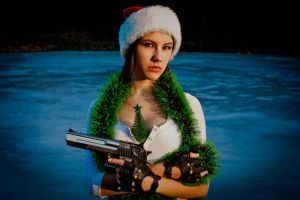 New Year's Lara Croft - fir-tree's keeper by TanyaCroft