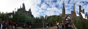 Hogwarts and Hogsmeade 360pano by GordonTarpley