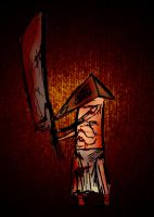 Pyramid head by TheWallProducciones