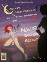 Captain Scandalous and the Sirens of Planet X by Skyserpent